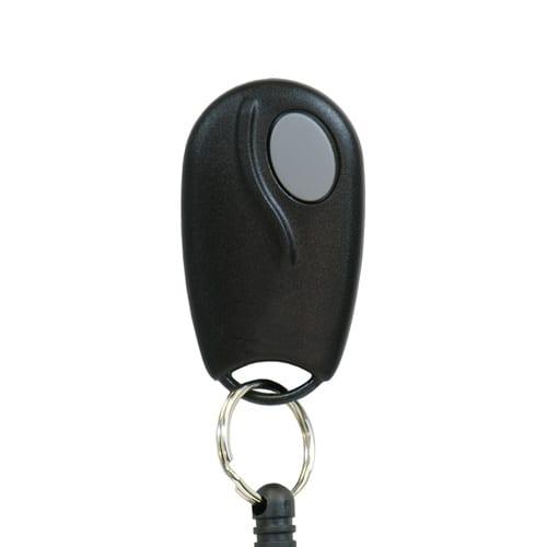grey button linear garage remote
