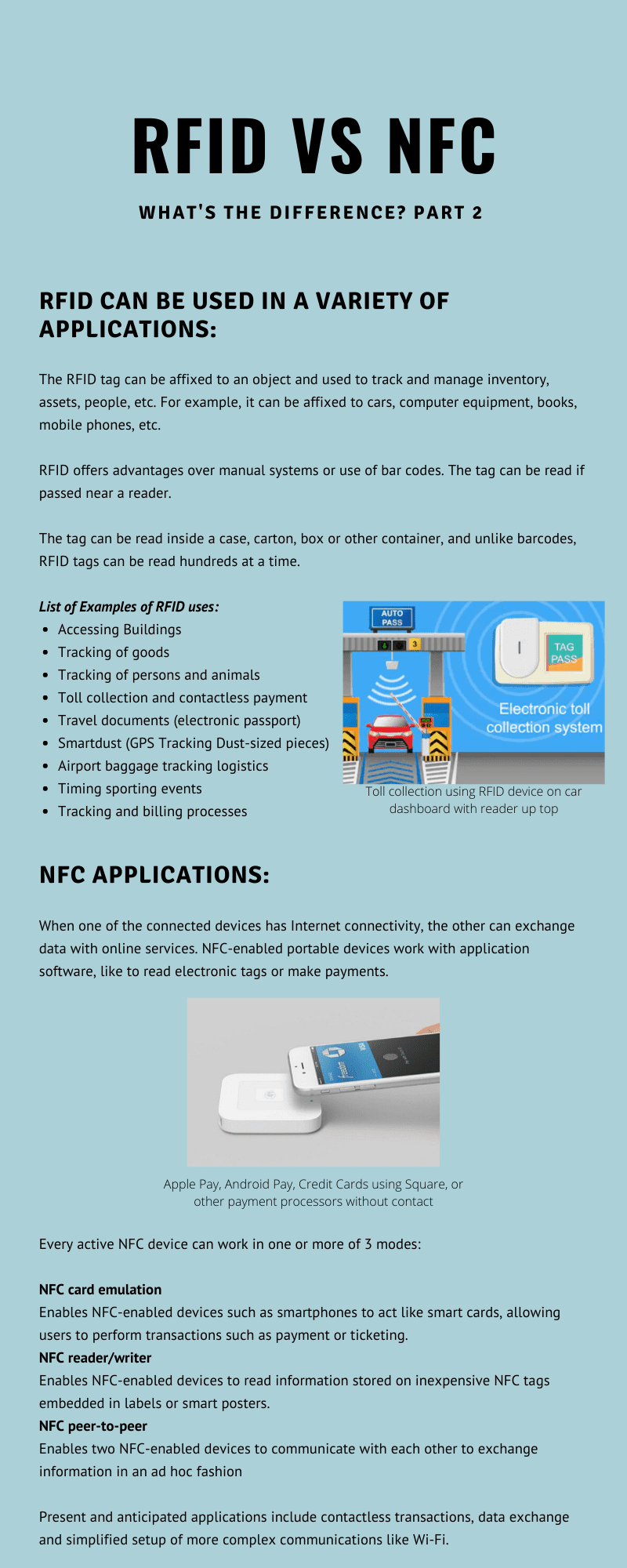 rfid vs nfc info graphically explained