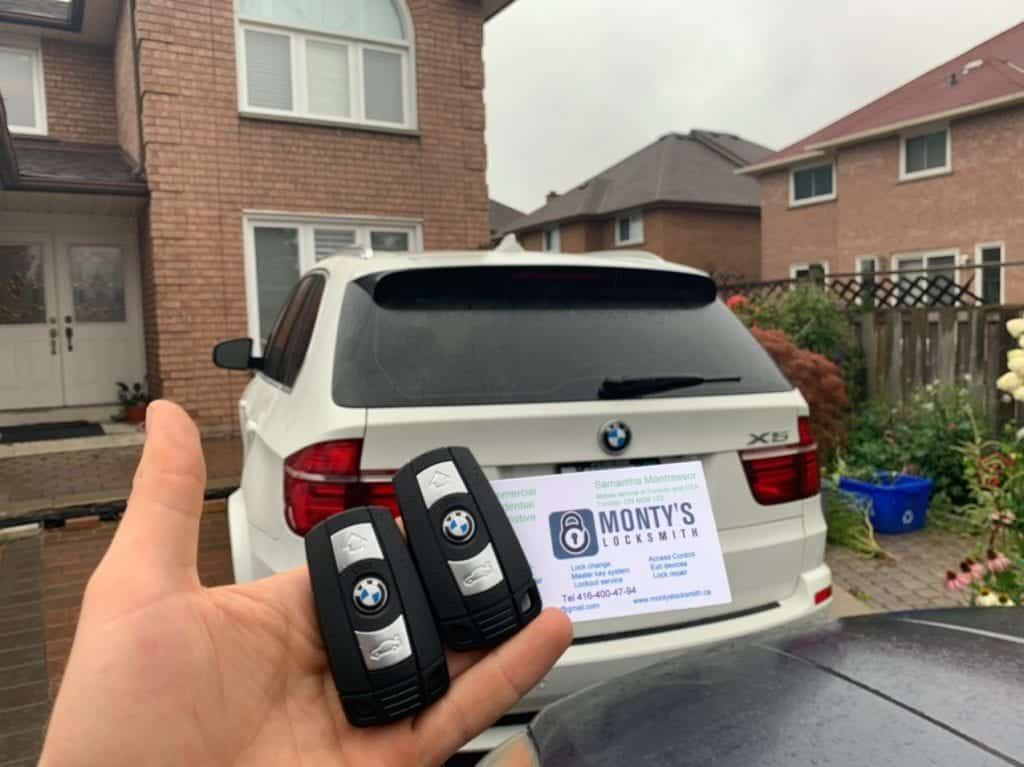 car key fob copy service in Toronto