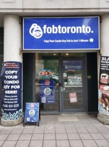 FobToronto Storefront, key duplication service, key fob copy, key copying near me
