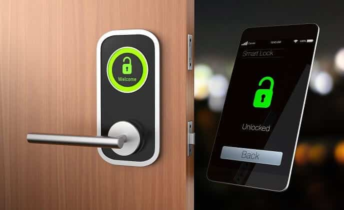 are smart door locks safe